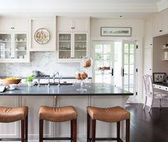 Une cuisine blanche classique