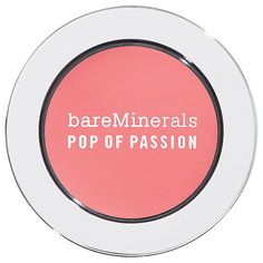Buy bareMinerals Pop of Passion Blush Balm, Posy Passion (sheer fuchsia) with free shipping on orders over $35, gifts-with-purchase, expert advice - plus earn 5% back | Beauty.com