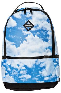 Sprayground Backpack The Camo Clouds Blue - Karmaloop.com