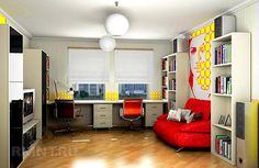 детская комната для двоих школьников - Поиск в Google
