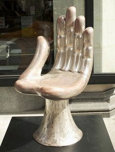 Defend the Trend: silver hand chair
