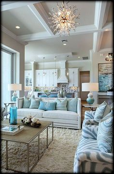 High Quality Robb And Stucky (House Of Turquoise) This Incredible Home On Marco Island  Was Designed By Susan J. Bleda And Amanda Atkins Of Robb U0026 Stucky, And Is  Actually ...