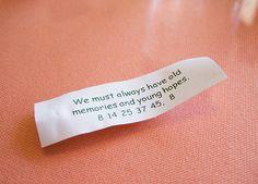 my favorite fortune