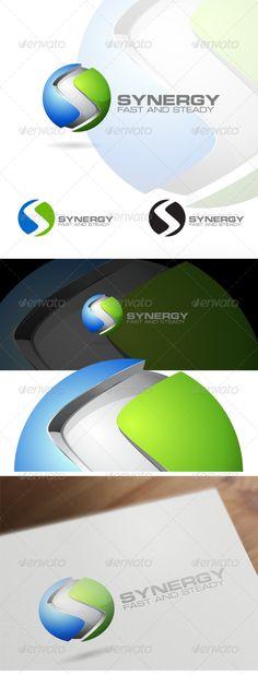 3D S Letter - Corporate Logo Design (Letters)