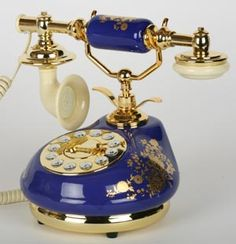 Phone Phun Novelty Telephones PLUS offers antique telephones, novelty phone, and nostalgic phones. We also offer retro phone and replica phones. Antique Phone, Antique Desk, Rare Antique, Porcelain Jewelry, Porcelain Tile, Et Phone Home, Vintage Phones, Old Phone, Shabby Chic