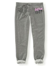 Aéropostale Slim Cinch Fleece Dorm Pants