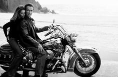 i found it from net. there was one old snap of arnold n maria sitting on harley but i could n't found. if any body have that, pls upload that, that was gr8.