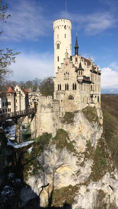**Lichtenstein Castle (picturesque castle with great views) - Lichtenstein, Germany