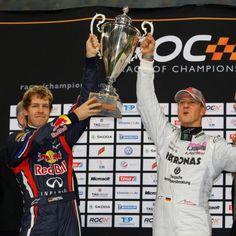 ROC 2012: Michael Schumacher Sebastian Vettel