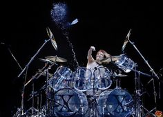 Yoshiki, one of the best rock drummers ever.