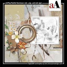 ArtPlay Palette Narcissus Released 26 April 2019 #annaaspnes of #aA designs #annaaspnes #digitalart #digitalartist #digitalartistry #digitalcollage #collage #digitalphotography #photocollage #art #design #artjournaling #digital #digital #scrapbooking #digitalscrapbooking #scrapbook #modernart #memorykeeping #photoshop #photoshopelements