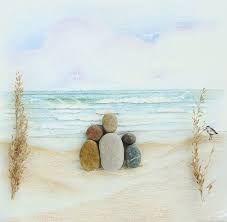 Αποτέλεσμα εικόνας για pebble art family