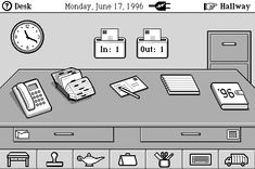 The Anti-Mac Interface. Written in 1996, We reverse all of the core design principles behind the Macintosh human interface guidelines to arrive at the characteristics of the Internet desktop.
