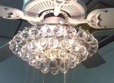 Acrylic-Crystal-Chandelier-Type-Ceiling-Fan-Light-Kit