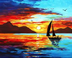 Fun & social art classes for all skill levels in Midtown, Chelsea, Harlem, and Williamsburg Byob Painting, Value Painting, Jesus Painting, Seascape Paintings, Landscape Paintings, Watercolor Landscape, Watercolor Paintings, Spring Painting, Painting Workshop