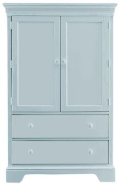 An armoire of trending proportions - Mint Armoire furniture lies within the lines of Grayed Jade - and we love it | Young America @Teri Martinezã Belfort Furniture