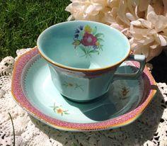 Vintage Calx Ware Adams Teacup Made in England by BellesTeaShop, $17.99