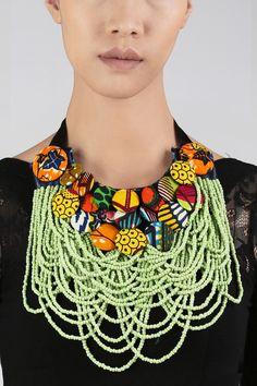 A masterpiece by Ghanaian designer brand Christie Brown
