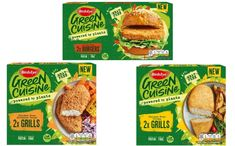 Birds Eye unveils three new Chicken-Free products - FoodBev Media Green Mat, Meat Substitutes, Morrisons, Food Packaging Design, Plant Protein, Sainsburys, Free Products, Plant Based Recipes, Snack Recipes