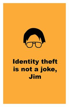 The Office TV Show Identity theft is not a joke Poster & Etsy The post The Office TV Show & Identity theft is not a joke & Poster Wall Art Print appeared first on Office Memes. Office Wallpaper, Wallpaper Ideas, Wallpaper Wallpapers, Naruto Wallpaper, Print Wallpaper, Funny Wallpapers, Iphone Wallpapers, Phone Backgrounds Funny, Homescreen Wallpaper