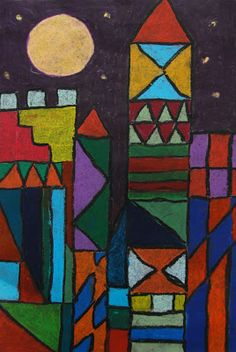 The New Hope Art Gallery: Inspired by the Masters - Geometric Cityscapes Inspired by Paul Klee