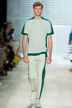 Lacoste Mode Homme Tendance New York Fashion Week Printemps/Été 2014