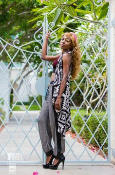 NATHANELLE LOUIS, 2014 TCI Top Model Contestant #5