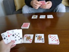 We love to play games when we have some down time.  This is one of our go-to card games when we have just a little extra time and don't want to hassle with a lot of setup.  We normally play 3-