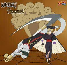 Temari and Kamatari NARUTO