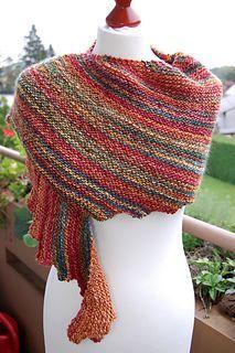 Drachenschwantz shawl