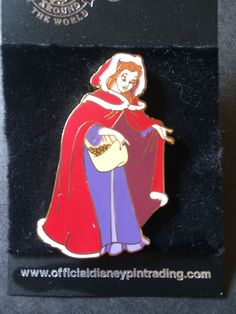 Disney+Pin+Belle+In+Long+Coat+Searching+For+Imagination+Pin+Event+New+
