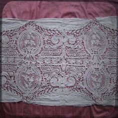 Haute Couture Antique French embroidered lace panel for repurposed projects - 1.5 yard floral whitework Vintage Fine Handmade 1900s supplies