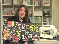 Scrapbook.TV - Cricut: How to Use the Feature Keys Karen love!!!!!