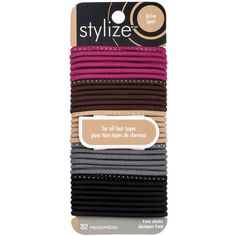 Shop for No Snag Elastics, Mauve by Stylize Luxury Beauty, Hair Ties, Metal, Mauve, Hair Accessories, Makeup, Shop, Products, Ribbon Hair Ties
