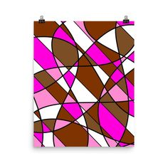 Soft Brown 2 by johannadesign Online Printing, Wall Art, Simple, Brown, Design, Design Comics, Chocolates, Browning