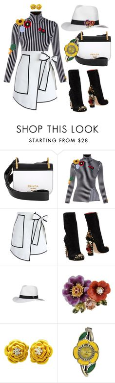 """""""FALL 2016 #35 by Shaunslay"""" by shaunslay ❤ liked on Polyvore featuring Prada, Christopher Kane, Chicwish, Dolce&Gabbana, Melissa Odabash, Les Néréides, Sonia Bitton and Decree"""