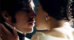 Victoria and Albert kisses  → Season 1