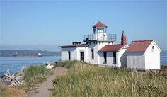 West Point Lighthouse, Washington at Lighthousefriends.com
