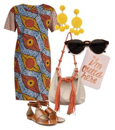 """""""Summer Dressed & Ready to Go"""" by texturelikesun ❤ liked on Polyvore featuring Weekend Max Mara, Humble Chic, Michael Kors, ban.do and RetroSuperFuture"""