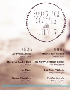 inspired COACH Magazine is for coaches inspiring them to build their business and support their clients. October 2014 with life coach Clare Bowditch.