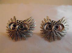 Steampunk or Gothic Owl Cufflinks just for Men by AGothShop, $12.50