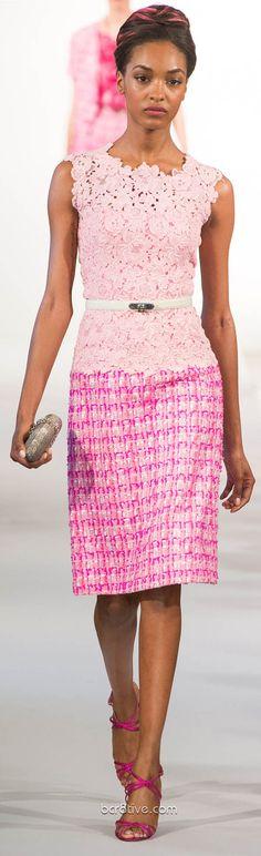 #Oscar De La Renta Spring Summer Ready to Wear 2013 #Trend Ladylike #HauteCouture