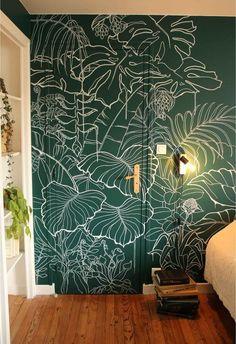 Home Decor Furniture, Diy Home Decor, Room Decor, Wall Decor, Wall Painting Decor, Mural Wall Art, Wall Design, House Design, My Dream Home