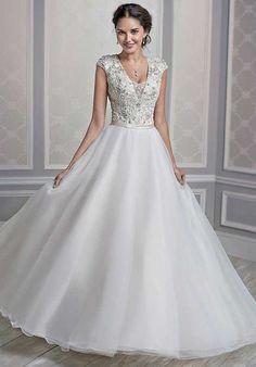 Kenneth Winston 1601 Ball Gown Wedding Dress