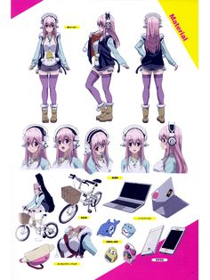 super sonico the animation | Super Sonico The Animation Soniani Super Fan Book - Anime Books