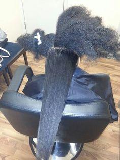 . Natural Hair Growth Remedies, Natural Hair Growth Tips, Long Natural Hair, Natural Hair Journey, Natural Hair Styles, Hair Shrinkage, Pelo Afro, Queen Hair, Natural Hair Inspiration