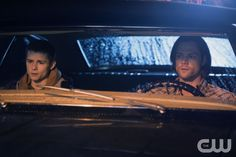 """Supernatural -- """"About a Boy"""" -- Image SN1012A_0003 -- Pictured (L-R): Dylan Everett as Young Dean and Jared Padalecki as Sam -- Credit: Diyah Pera/The CW --  © 2015 The CW Network, LLC. All Rights Reservedpn"""
