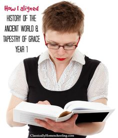 History of the Ancient World by Susan Wise Bauer aligned with Tapestry of Grace Year 1 with a detailed explaination and free pdf