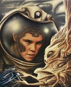 Artist: Jim Burns  -  Illustration  -  http://visualmelt.com/Jim-Burns  -  http://www.alisoneldred.com/artistJimBurns.html  -  #JimBurns