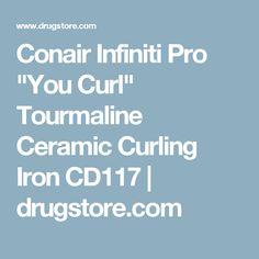 "Conair Infiniti Pro ""You Curl"" Tourmaline Ceramic Curling Iron CD117 | drugstore.com"